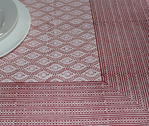 Bungalow Lulu Red Tablecloth