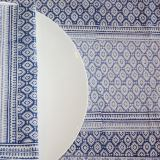 Lagoon Blue Tablecloth